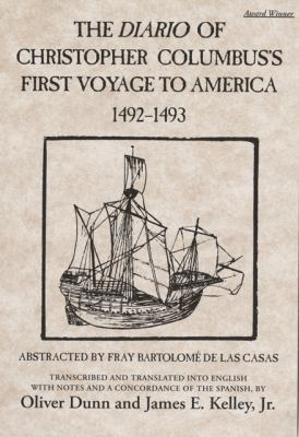 Diario of Christopher Columbus's First Voyage to America, 1492-1493