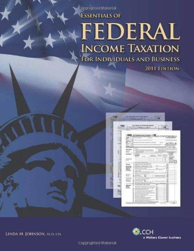 Essentials of Federal Income Taxation For Individuals and Business w/ 2012 U.S. Master Tax Guide