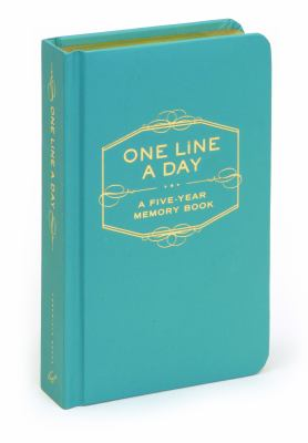 One Line a Day: A Five-Year Memory Book (Five Year Memory Book)