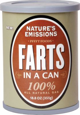 Farts in a Can : Nature's Emissions