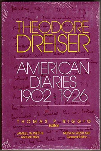The American Diaries, 1902-1926 (The University of Pennsylvania Dreiser Edition)