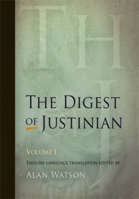 Digest of Justinian, Volume 1