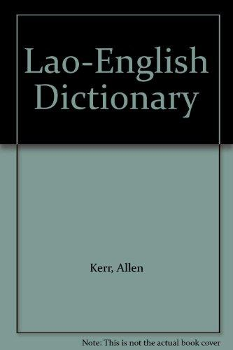Lao-English Dictionary