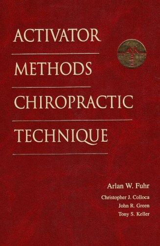 Activator Methods Chiropractic Technique, 1e