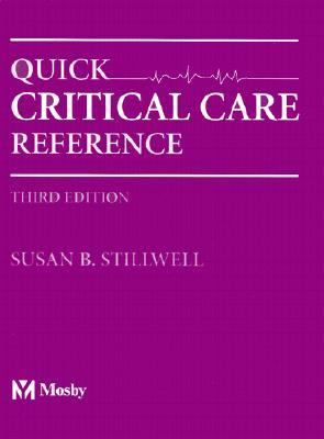 Quick Critical Care Reference