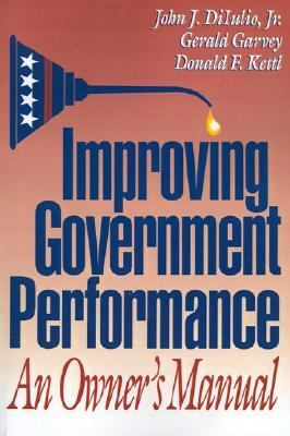 Improving Government Performance An Owners Manual