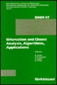 Bifurcation and Chaos: Analysis, Algorithms, Applications (International Series of Numerical Mathematics)