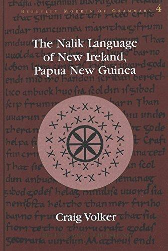 The Nalik Language of New Ireland, Papua New Guinea