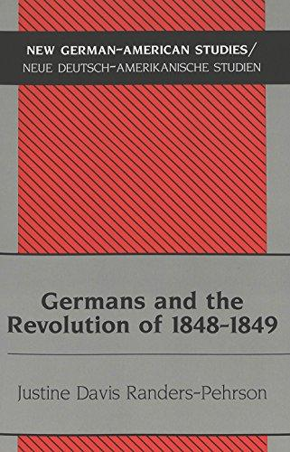 Germans and the Revolution of 1848-1849