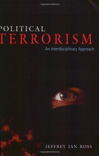 Political Terrorism: An Interdisciplinary Approach