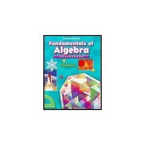 Fundamentals of Algebra: Sourcebook, Course 1