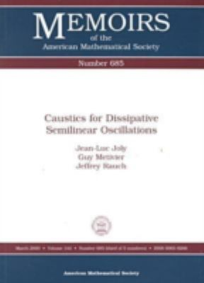 Caustics for Dissipative Semilinear Oscillations