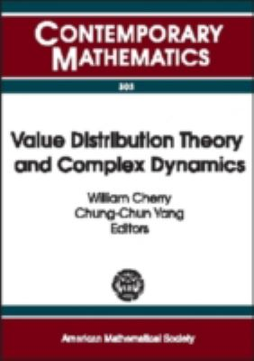 Value Distribution Theory and Complex Dynamics Proceedings of the Special Session on Value Distribution Theory and Complex Dynamics of the First Joint International Meeting of the American