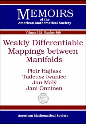 Weakly Differentiable Mappings Between Manifolds