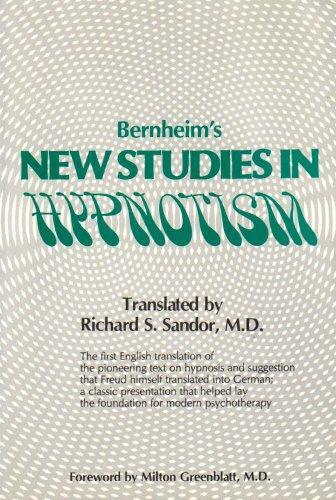 Bernheim's New Studies in Hypnotism