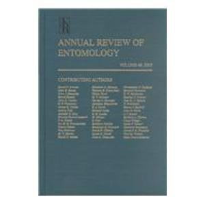 Annual Review of Entomology: 2003