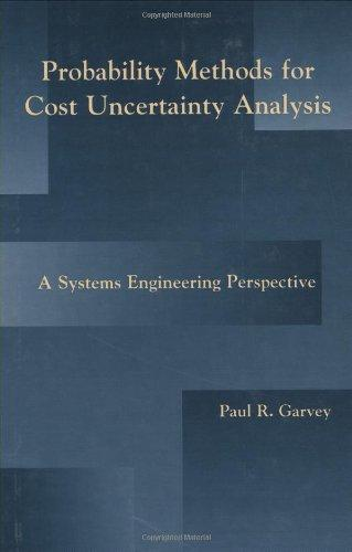 Probability Methods for Cost Uncertainty Analysis: A Systems Engineering Perspective