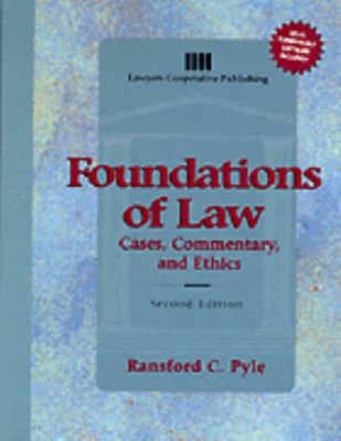 Foundations of Law:cases...-w/3disk