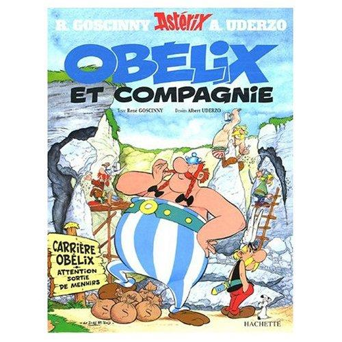 Asterix Obelix et Compagnie (French edition of Obelix and Company)