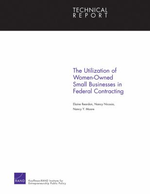 Utilization of Women-Owned Small Businesses in Federal Contracting
