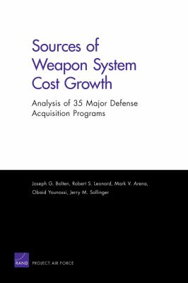 Sources of Weapon System Cost Growth: Analysis of 35 Major Defense Acquisition Programs