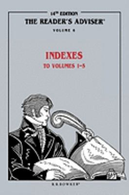 Reader's Adviser Indexes