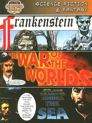 Science Fiction & Fantasy Frankenstein / War of the Worlds / 20,000 Leagues Under the Sea