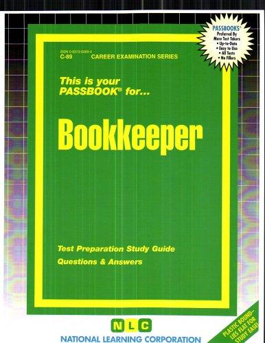 Bookkeeper(Passbooks) (Career Examination Series)