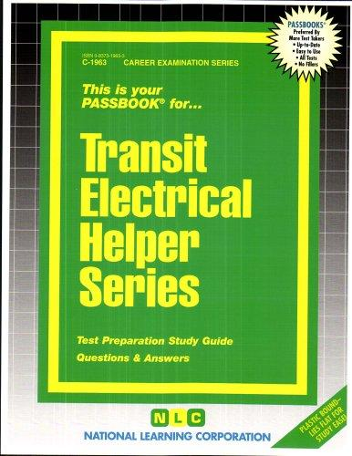 Transit Electrical Helper Series(Passbooks) (C 1963)