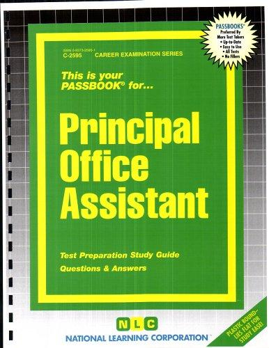 Principal Office Assistant(Passbooks) (Passbook for Career Opportunities)