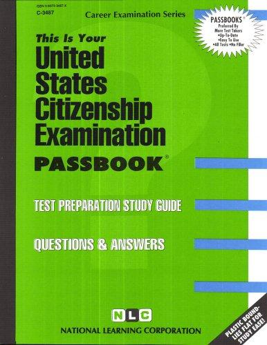 United States Citizenship Exam(Passbooks)