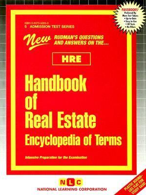 New Rudman's Hre Handbook of Real Estate Encyclopedia of Terms