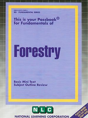 Forestry: Basic Mini Text, Subject Outline Review