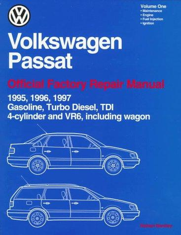 Volkswagen Passat: Official Factory Repair Manual (2 Volume Set) 1995, 1996, 1997: Gasoline, Turbo Diesel, Tdi 4-Cylinder and Vr6, Including Wagon (Volkswagen)