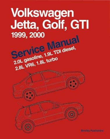 Volkswagen Jetta, Golf, GTI Service Manual: 1999-2000
