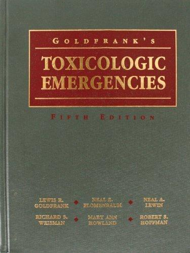 Goldfrank's Toxicologic Emergencies