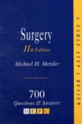 Surgery 700 Questions & Answers