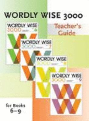 Wordly Wise 3000 For Books 6-9