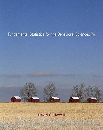 Cengage Advantage Books: Fundamental Statistics for the Behavioral Sciences