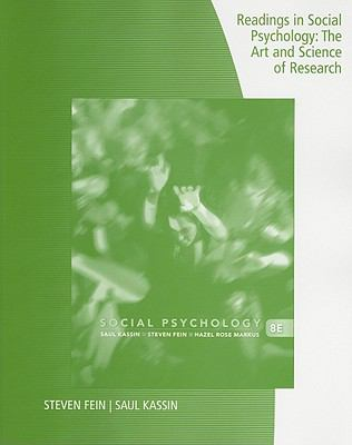 Readings in Social Psychology: The Art and Science of Research