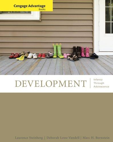Cengage Advantage Books: Development: Infancy Through Adolescense