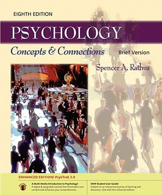 Psychology: Concepts & Connections, Brief Edition: PsykTrek 3.0 Enhanced Edition with User Guide and Printed Access Card