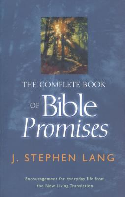 The Complete Book of Bible Promises - J. Stephen Stephen Lang - Paperback