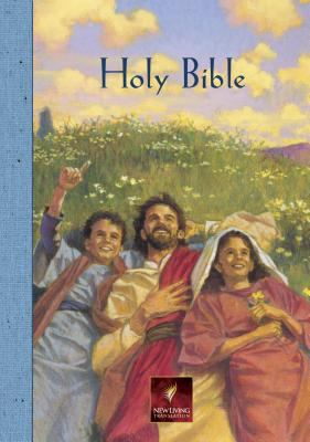 Holy Bible New Living Translation Children's Blue