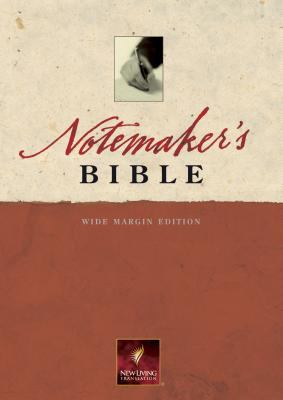 Notemaker's Bible New Living Translation, Wide Margin