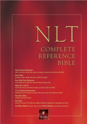 Nlt Complete Reference Bible New Living Translation, Complete Reference, Burgundy Bonded Leather