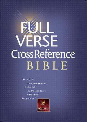 Full Verse Cross Reference Bible New Living Translation Burgundy Bonded Leather