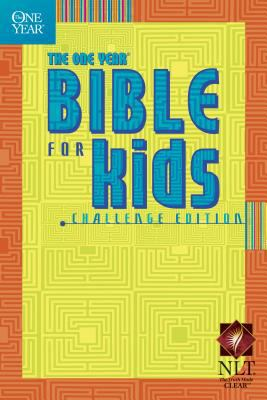 One Year Bible for Kids Challenge Edition; Greatest Bible Passages Arranged in 365 Daily Readings from the New Living Translation