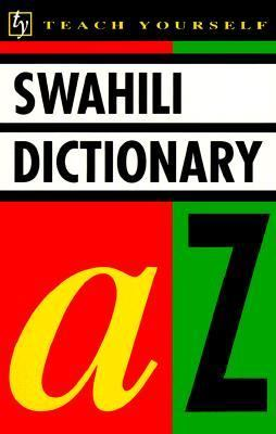 Teach Yourself:swahili Dictionary