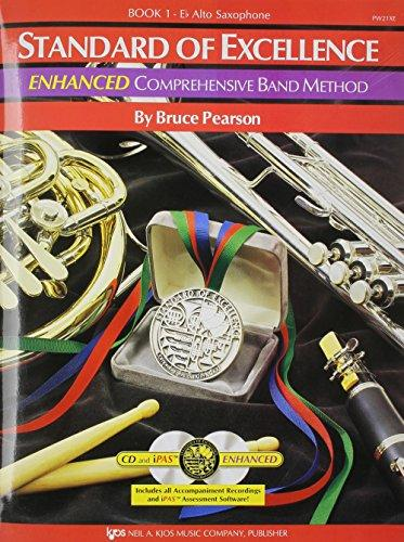 PW21XE - Standard of Excellence Enhanced Book 1 Alto Saxophone